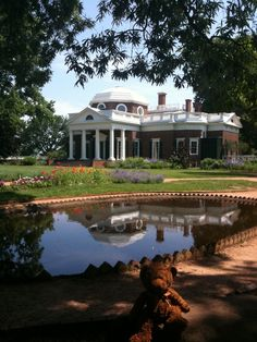 President Jefferson's stately 1769 mansion, Monticello in Virginia. www.ochomesbyjeff.com #orangecountyrealtor #jeffforhomes #bucketlist