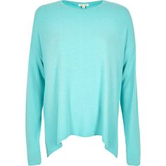 Bright blue casual swing top £26.00
