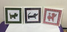 Tartan Doggy Thank You Cards