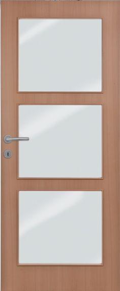 Porte intérieure contemporaine croisillons la din croisillon 5
