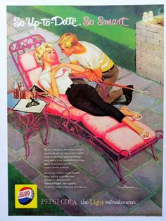 1950s PEPSI COLA ADVERTISEMENT Ideal for by sandshoevintagebooks, $5.00