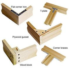 How to Make Reinforced Joints - Assembling Your Project - Built-ins, Shelves & Bookcases. DIY Advice