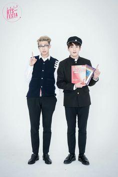 BTS 방탄소년단 || BTSFESTA 030616 || Rap Monster 랩몬스터, JungKook 정국