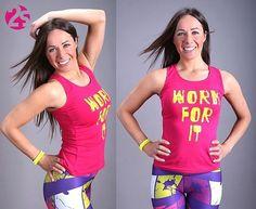 Dodaj sobie więcej motywacji!Wykorzystaj top sportowy WORK FOR IT ❗ #2skin #top…