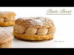 Preparamos paso a paso, unos Mini París-Brest Craquelin. Los rellenamos con un delicioso toffee, o crema de caramelo . Preparamos también una mousseline de chocolate con leche. Para terminar nuestros París-Brest Craquelin, espolvoreamos las tapas, con azúcar glas.