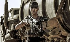 Furiosa - from Mad Max: Fury Road (2015) \Furiosa takes on a very masculine role as warrior & protector of the Five Wives. However, she is also kind & compassionate, stereotypically female traits. Physically, she's monstrous because of her masculine appearance & her robotic arm. Figuratively, she is a threat because she doesn't conform to gender stereotypes & frees women from oppression.