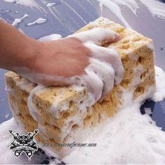 "Esponja de Limpieza Gigante Superabsorbente Modelo ""Giant Coral"" Color Amarillo - Envío Gratis a toda España - 4,38€"