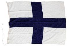 Nautical Flag, Navy Blue Cross on OneKingsLane.com