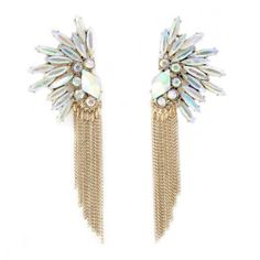 Crystal Venette Earrings - oBaz
