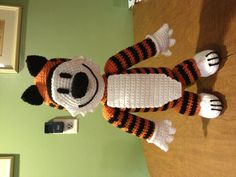 Crochet Hobbes from Calvin and Hobbes.