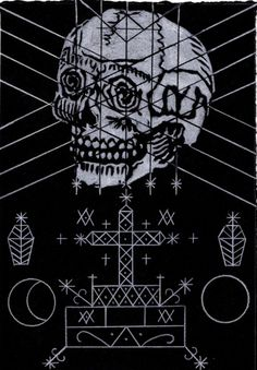 tarantelli via othelo gervacio Baron Samedi, Gothic Drawings, Voodoo Hoodoo, Haitian Art, Occult Art, Religious Images, Practical Magic, Skull And Bones, Deities