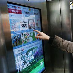 A New York le cabine telefoniche touch screen. Somigliano a grandi iPad con app gratuite » Modena Come