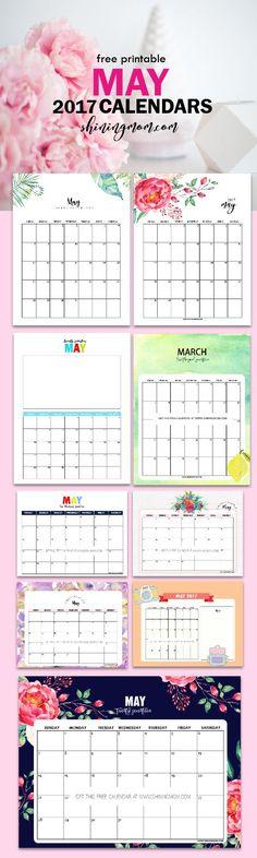 Homemade Calendar 2018 : Calendar printable