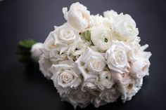 White Roses in this beautiful bride's bouquet. Bride Bouquets, White Roses, Beautiful Bride, Wedding Flowers, Bridal Bouquets