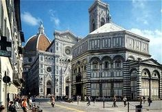 Cathedral Santa Maria del Fiore and the Baptistry, Florence