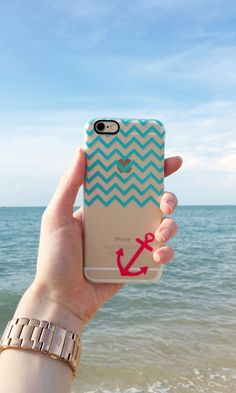 Anchored in hope. Such a cute Christmas gift idea for travel bugs. Available for iPhone 6, iPhone 5s/5, Samsung Galaxy, many more!