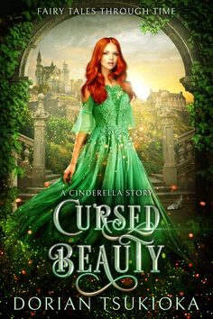 Dorian Tsukioka - Fairy Tale Fantasy book cover design by Dragana from Deranged Doctor Design Sleeping Beauty Book, Aurora Sleeping Beauty, Free Kids Books, Story Retell, A Cinderella Story, Fantasy Book Covers, Fairytale Fantasies, Gowns Of Elegance, Fairy Godmother