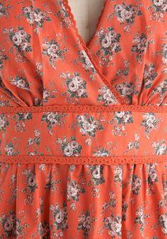 Roseate Tendencies Dress, #ModCloth