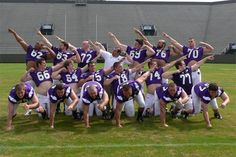 Football Team pic i think this is funny...lol FIRE POWER