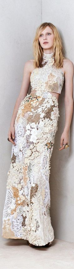 maxi lace dress white @roressclothes closet ideas #women fashion outfit #clothing style apparel