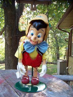 Pinóquio Marionete Musical Grande Disney Raríssimo Natal - R$ 549,99 no MercadoLivre