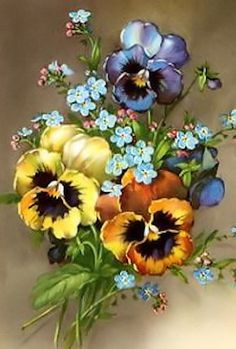 Pansies.....Beautiful