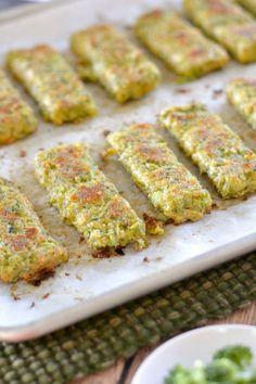 An Easy Kid-Friendly Broccoli Cheese Sticks Recipe