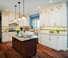 Hickory Floors Design Ideas, Pictures, Remodel, and Decor - page 32