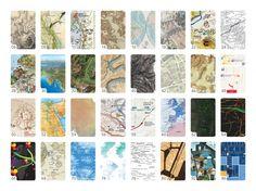 hand-drawn cartography