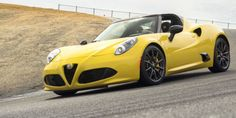 Alfa Romeo Could Replace The 4C With A Giulia Based A Front Engine Rear Wheel Drive Two Seater