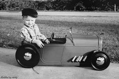 Ever since I was a little kid I've dreamed of owning a Hot Rod