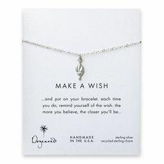 make a wish torch bracelet, sterling silver - Dogeared