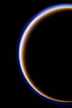 Titan's atmosphere.