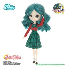 Sailor Moon - Sailor Neptune Pullip doll - Limited Edition - Import from Japan