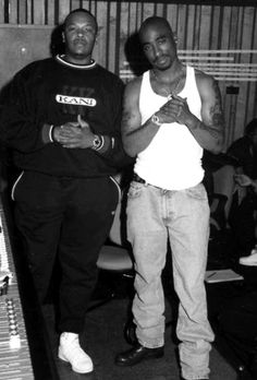 Throwback Pac and Dre