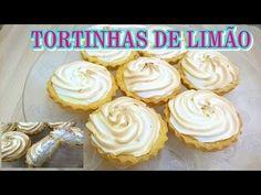FAÇA E VENDA - TORTINHAS DE LIMÃO - MIL DELÍCIAS NA COZINHA - YouTube Desserts, Chocolates, Cupcake, Pastel, Youtube, Fruit Kabobs, Wafer Cookies, Delicious Desserts, Cook