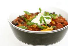 vegetarian chili #VCFakeaways