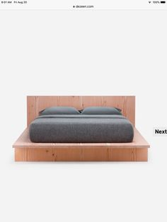 Japanese Style Bed, Bed Styling, Outdoor Furniture, Outdoor Decor, Home Decor, Decoration Home, Room Decor, Home Interior Design, Backyard Furniture