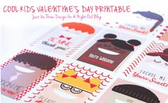 Kids Valentines day printable: 15 Awesome Valentine's Day Projects
