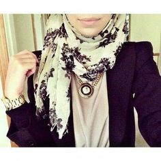 Hijab style - superdupercute