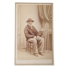 Jim Mitchell, family servant of the Washington family/83 years old/April 15th, 1870/lived at Mt. Vernon since 14 years age. (Alexander Gardner)