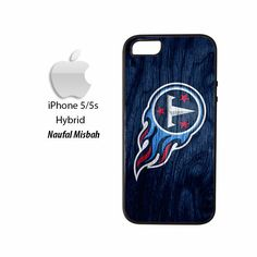 Tennessee Titans Custom #4 iPhone 5/5s HYBRID Case Cover