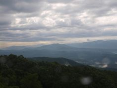 View From Look Rock, Great Smoky Mountains National Park 6/27/2013