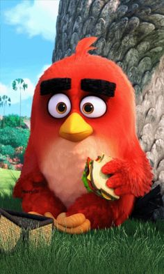 Wallpaper Angry Birds Movie red Best Animation Movies of All Angry Birds, Red Angry Bird, Movie Wallpapers, Cute Cartoon Wallpapers, Disney Marvel, Bird Wallpaper, Iphone Wallpaper, Trendy Wallpaper, Angry Bird Pictures
