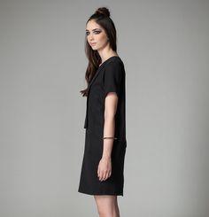 Robe Rainier Jennifer Glasgow / Rainier Dress Jennifer Glasgow Glasgow, Shirt Dress, Shirts, Collection, Black, Dresses, Fashion, Zipper, Vestidos