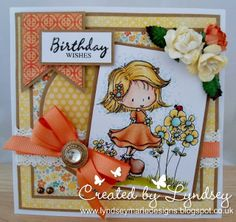 Tiddly Inks Celebrate Joyfully digi.  SU Whisper White, Crumb Cake card stock.  MME Collectable Notable dsp. Cotton Lace, Grograin Ribbon, Roses, Pearls colored with copics. Colored with Promarkers