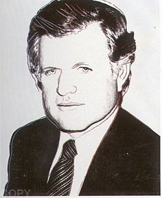 Andy Warhol - Edward Kennedy, 1980 screenprint with diamond dust 40 x 32