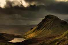 "Isle of Skye...Melissa and I were there this month.....seriously ""other worldly""....fairy tale like."