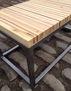 Reclaimed Pallet Wood and Industrial Steel Bench / by Streetwood