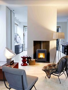 Pellet Stove CUTE by MCZ GROUP | #design Emo Design #fireplace